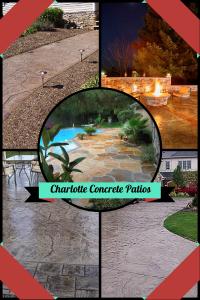 charlotte concrete patios