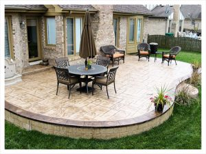 charlotte stamped concrete patios